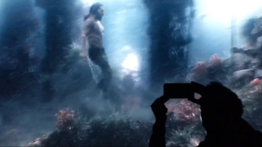 Justice League Movie - Aquaman Test Footage