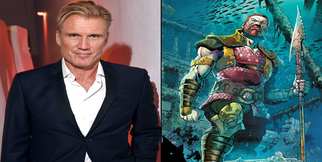 Dolph Lundgren to join Jason Momoa in 'Aquaman'