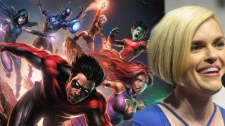 Kari Wahlgren interview teen titans dc comics news