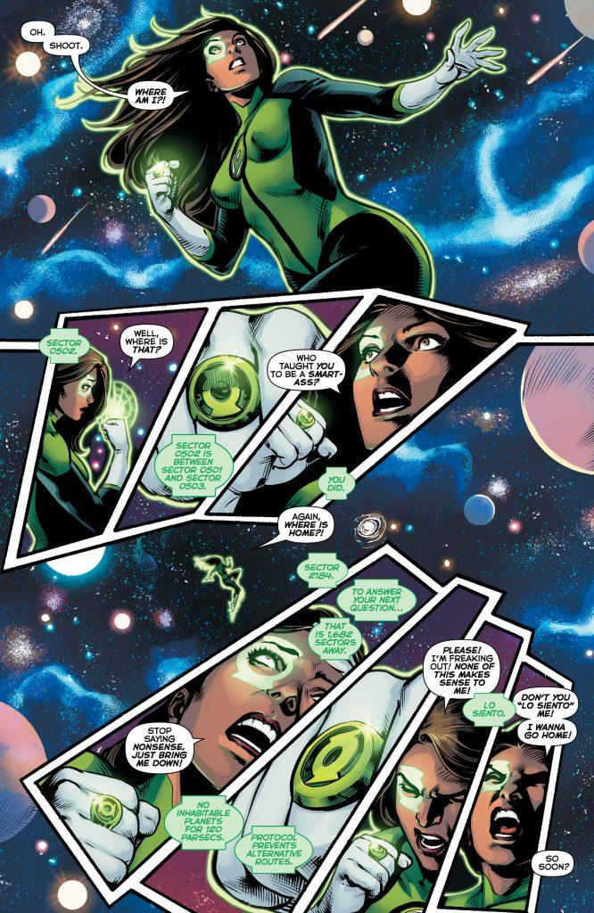 Review: Green Lanterns #22