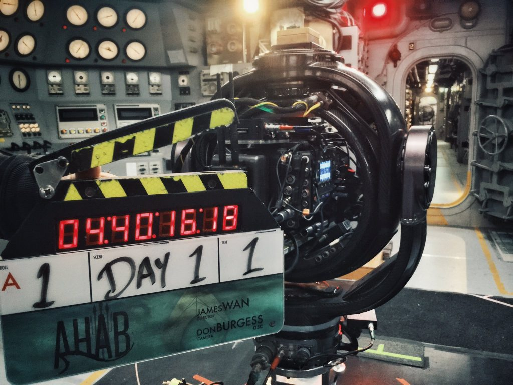 Filming officially begins as 'Aquaman' director James Wan shares set photo