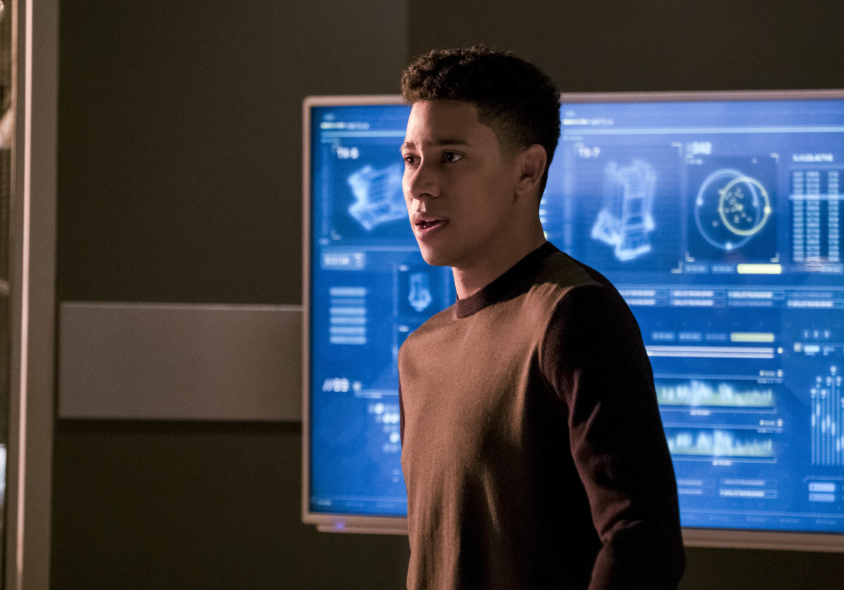"The Flash -- ""Cause and Effect"" -- FLA321a_0043b.jpg -- Pictured: Keiynan Lonsdale as Wally West -- Photo: Jeff Weddell /The CW -- © 2017 The CW Network, LLC. All rights reserved."