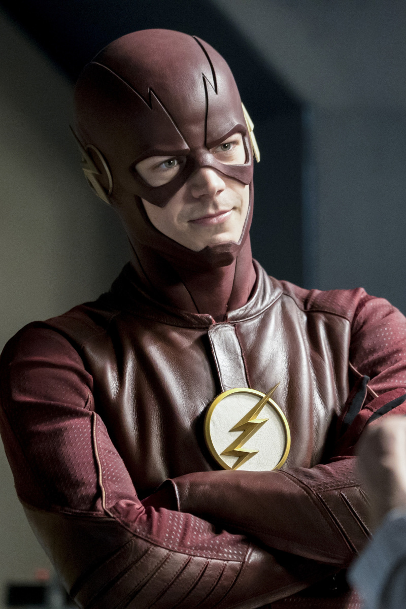 "The Flash -- ""Cause and Effect"" -- FLA321b_0146b.jpg -- Pictured: Grant Gustin as The Flash -- Photo: Katie Yu/The CW -- © 2017 The CW Network, LLC. All rights reserved."