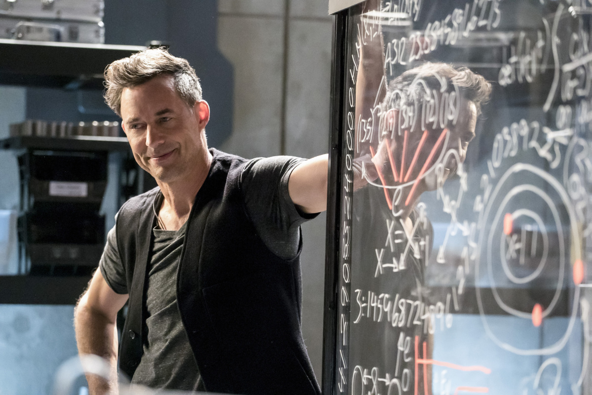 "The Flash -- ""Cause and Effect"" -- FLA321b_0238b.jpg -- Pictured: Tom Cavanagh as Harrison Wells -- Photo: Katie Yu/The CW -- © 2017 The CW Network, LLC. All rights reserved."