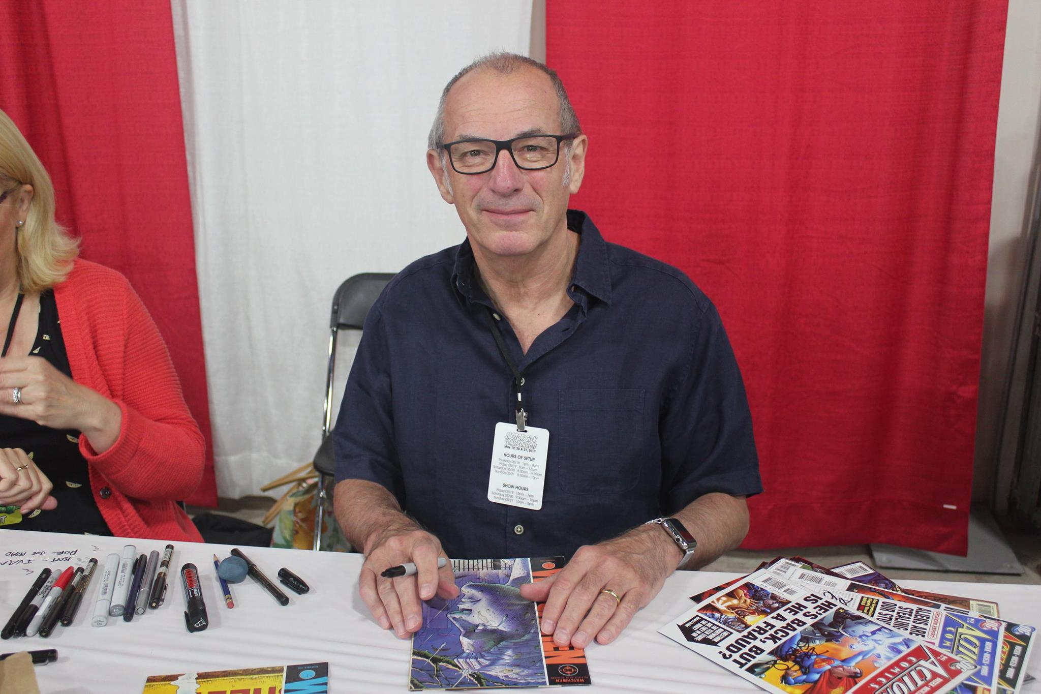 Comic Legend Dave Gibbons! Co-creator of Watchmen.