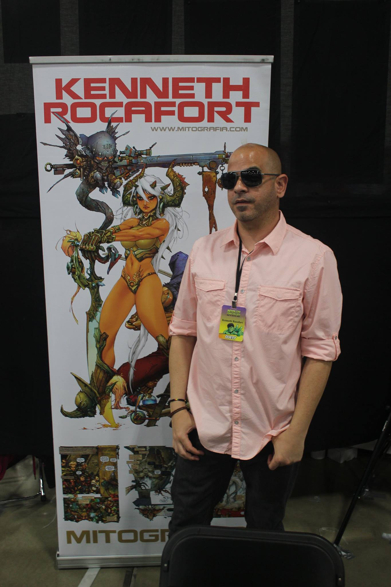 Artist Kenneth Rocafort