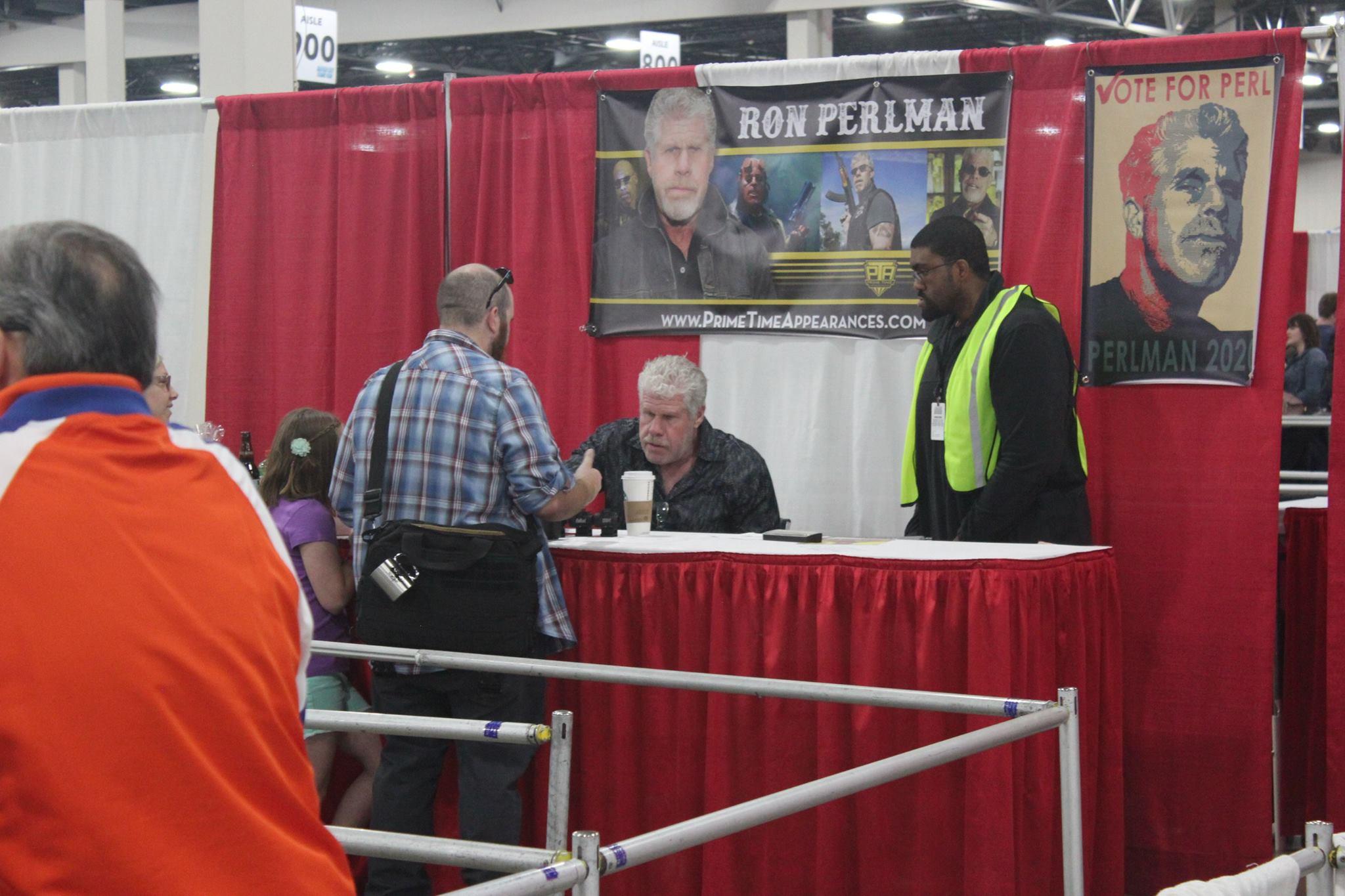 Hellboy's Ron Perlman