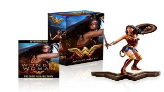 Wonder Woman Blu-Ray Pre-Order Information with Gift Set