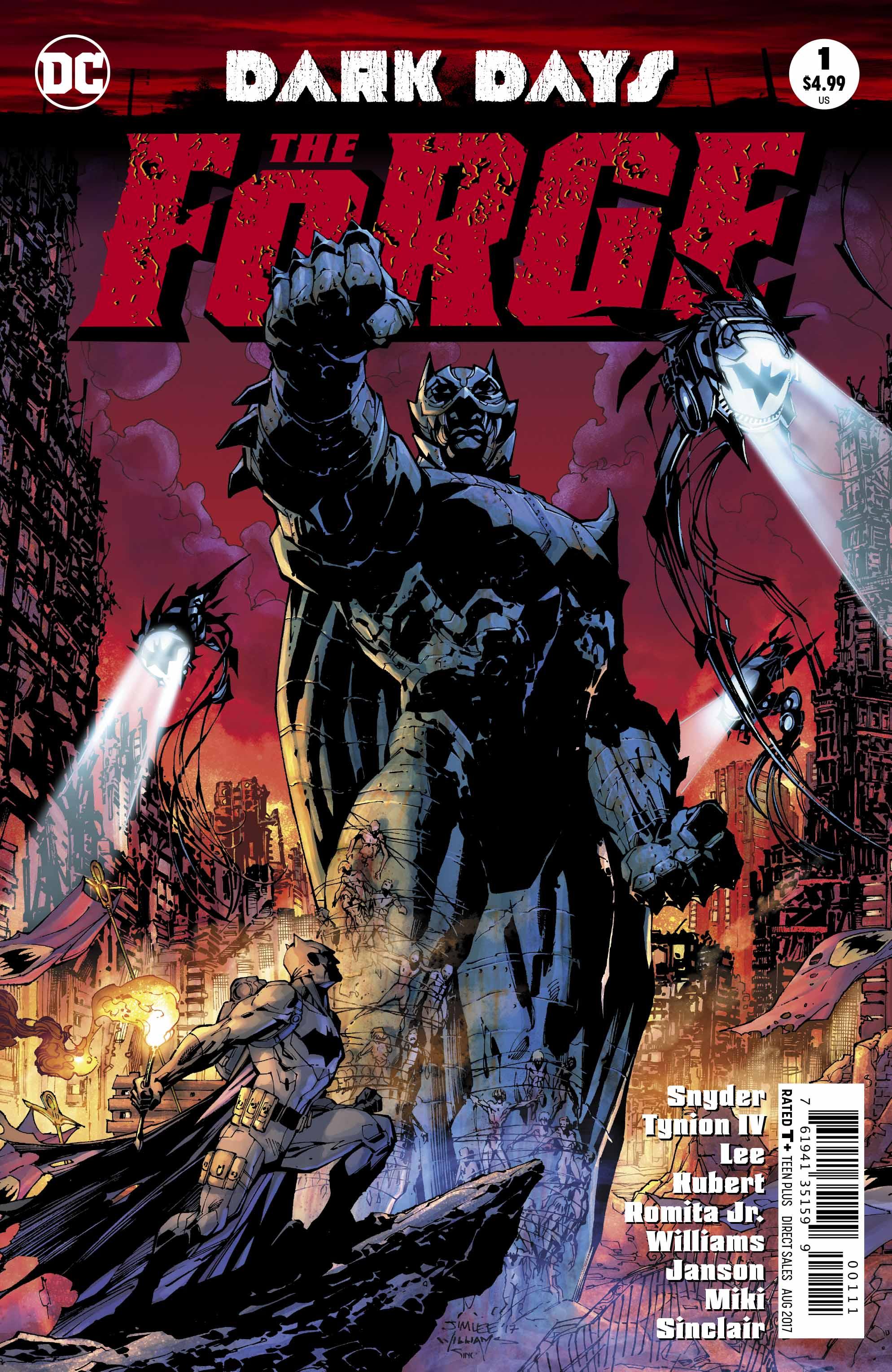 Dark Days - DC Comics News