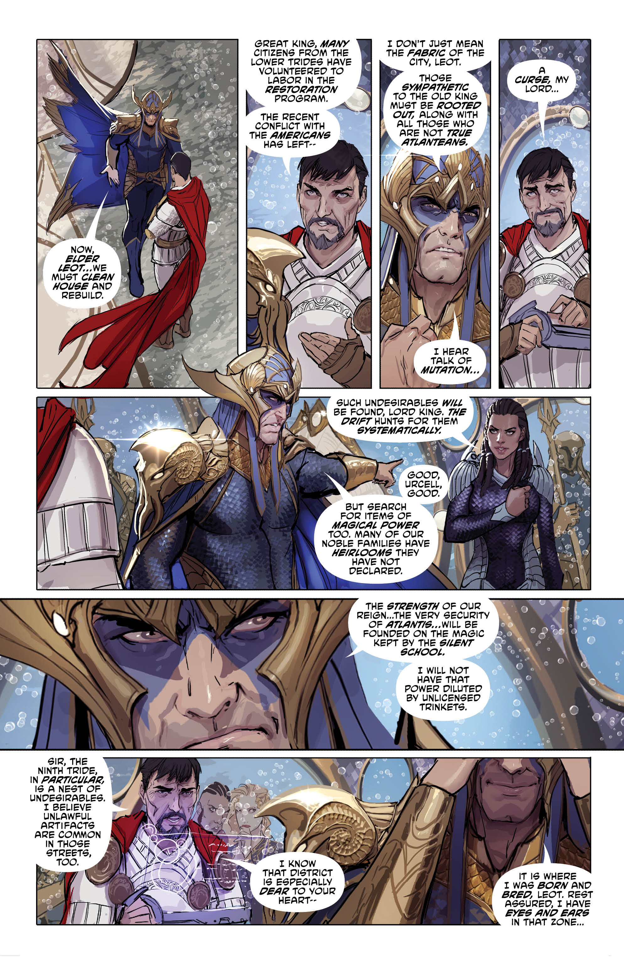 Aquaman page 3 - DC Comics News