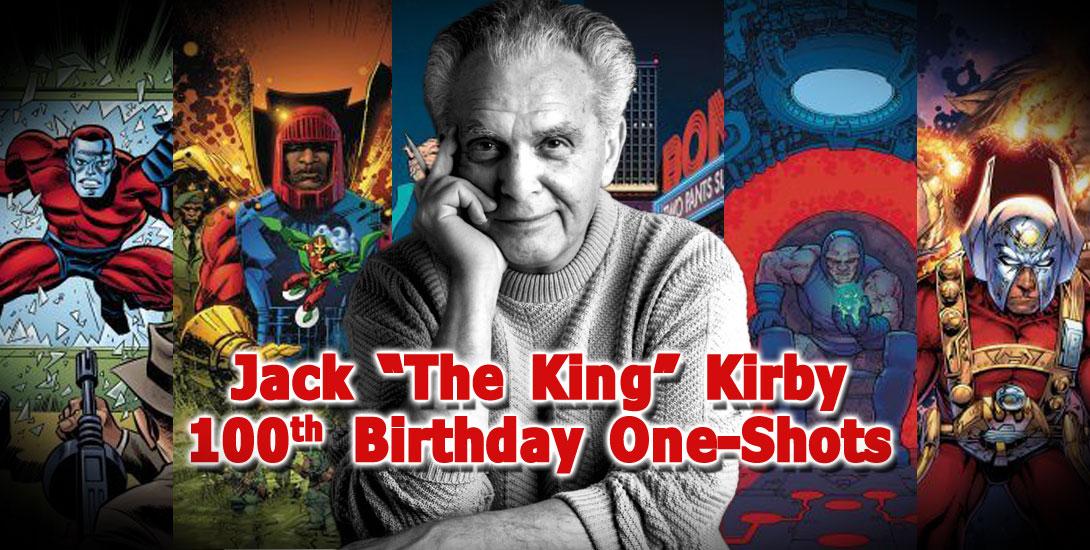 Jack Kirby 100 - DC Comics News