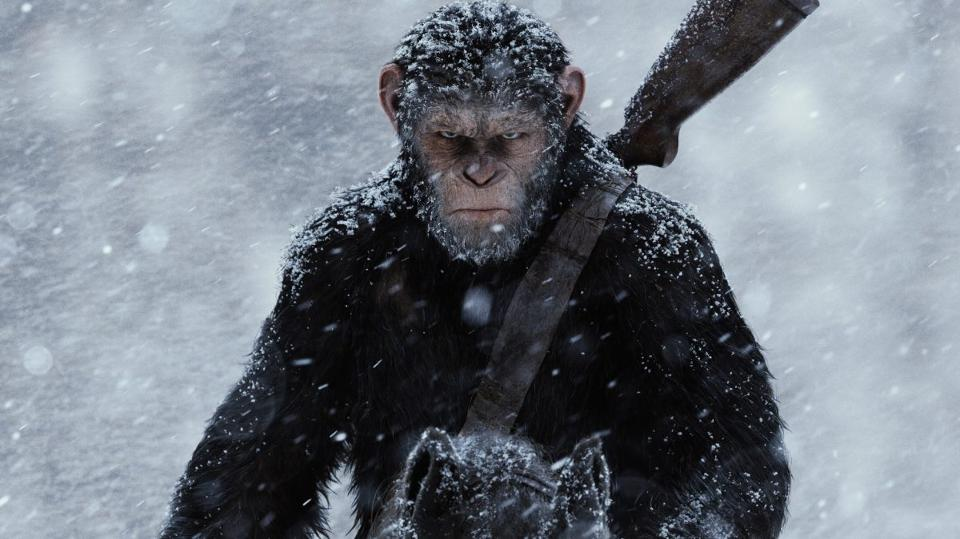 War of the Planet of the Apes - DC Comics News