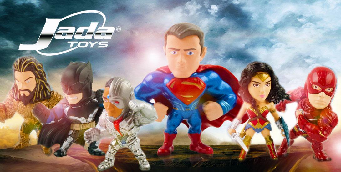 Justice League Jada Toys - DC Comics News