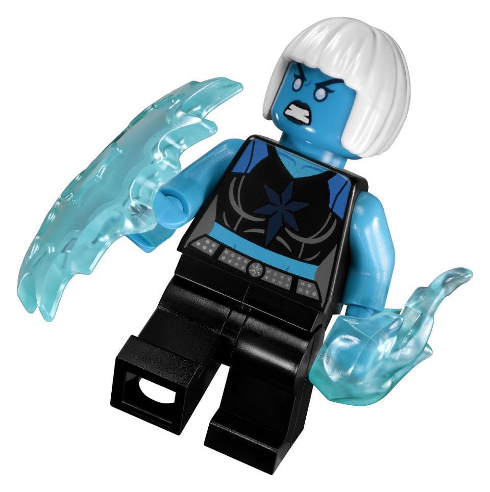 Build Your Own Superhero Team Lego