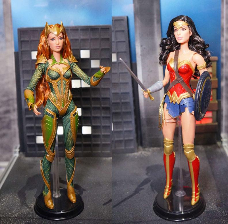 Justice League Dolls - DC Comics News