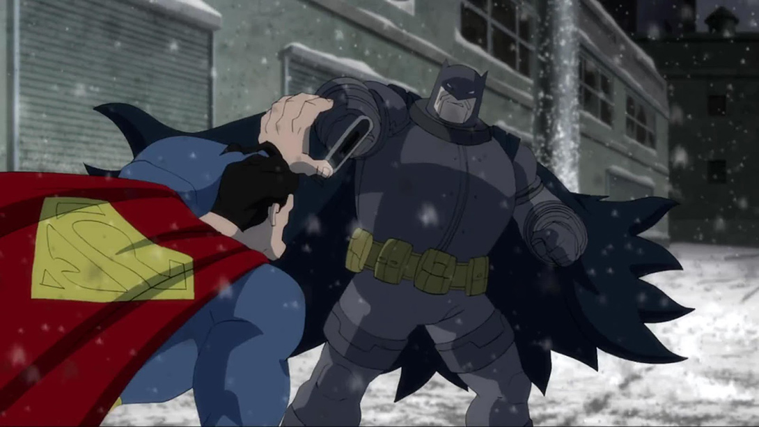 TDKR Batman vs Superman - DC Comics News
