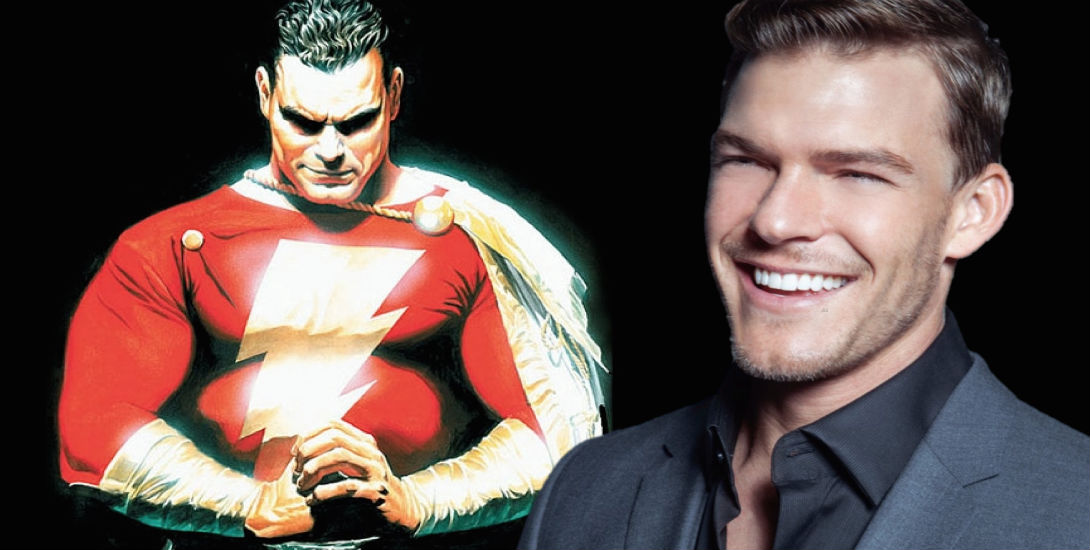 Alan Ritchson Wants to Play Shazam | DC Comics News