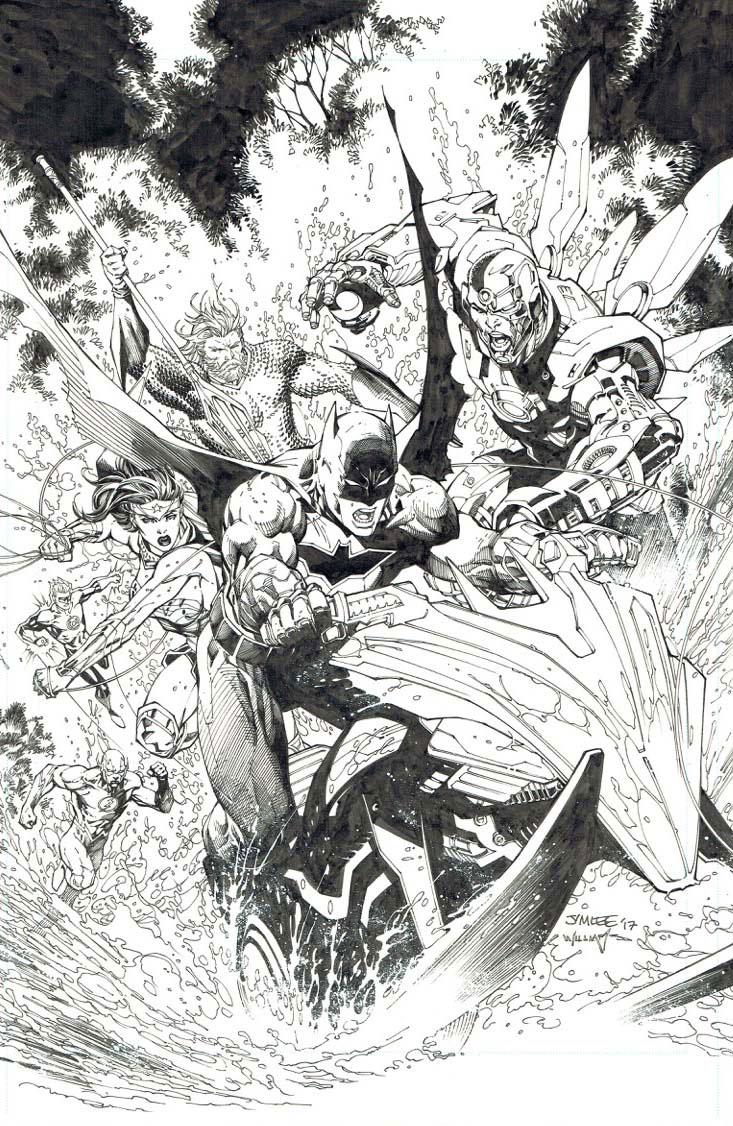 Jim Lee variant cover