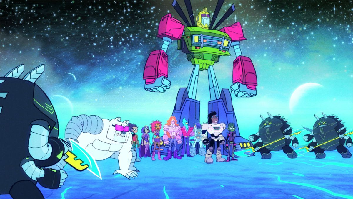 Review teen titans go 4 27 4 30 the night begins to shine special dc comics news - The night begins to shine full episode ...