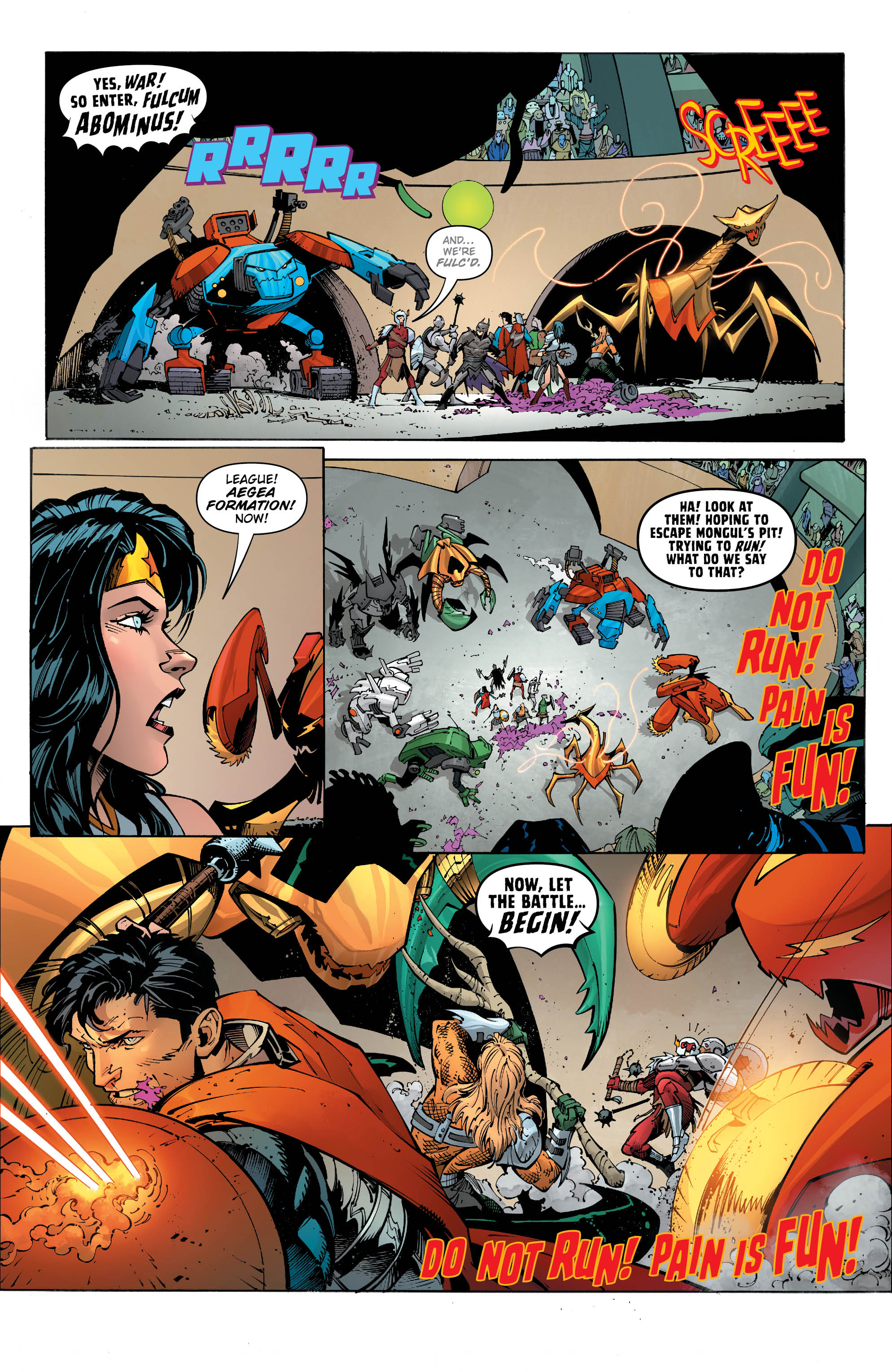 Metal Page 1 - DC Comics News