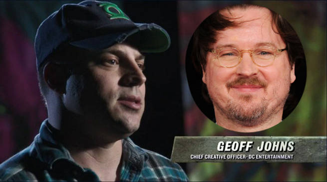Geoff Johns and Matt Reeves - DC Comics News