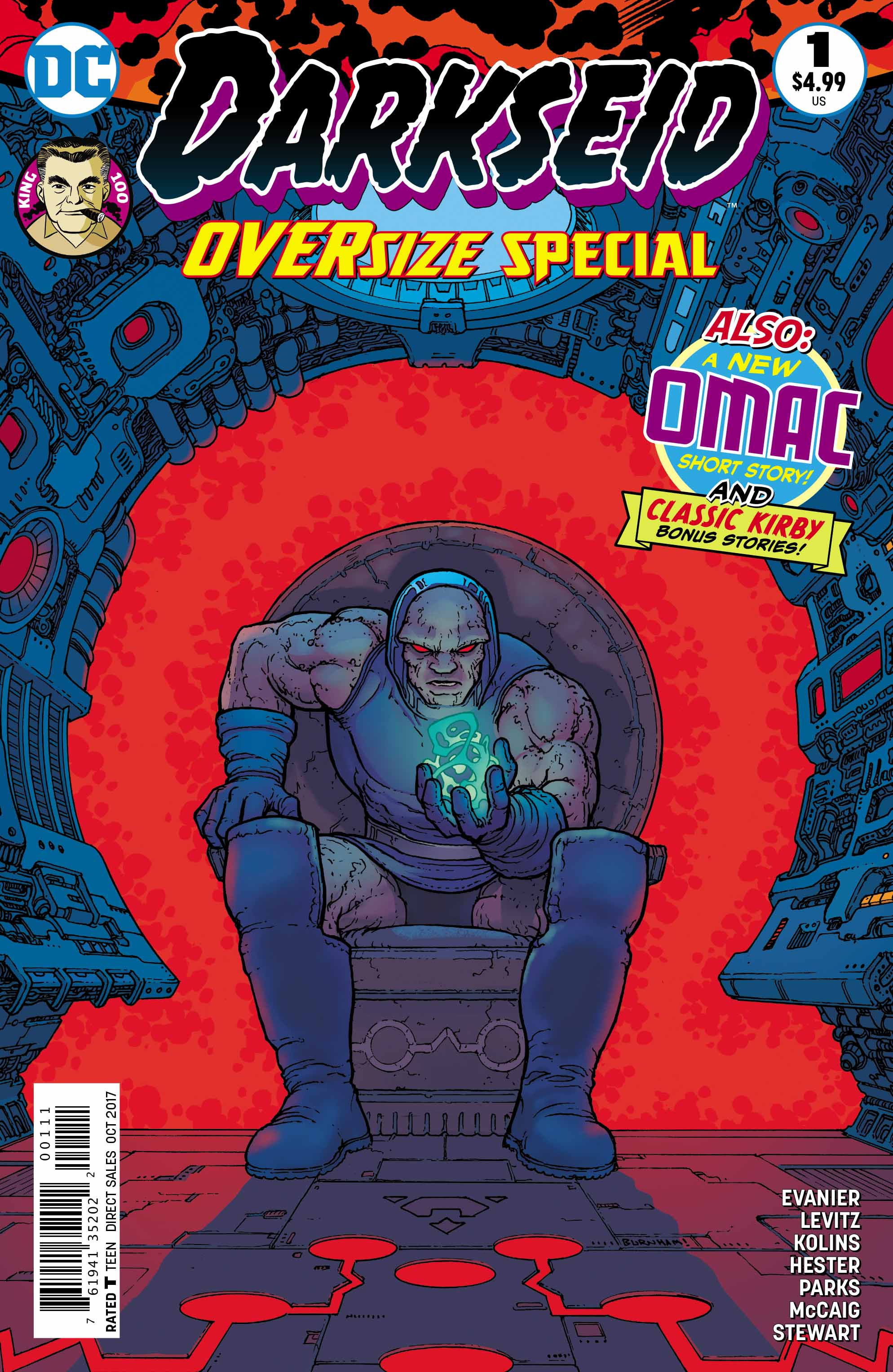 Darkseid Cover - DC Comics News