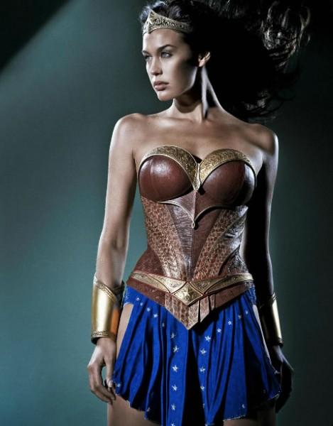 Megan Gale - Wonder Woman - DC Comics News