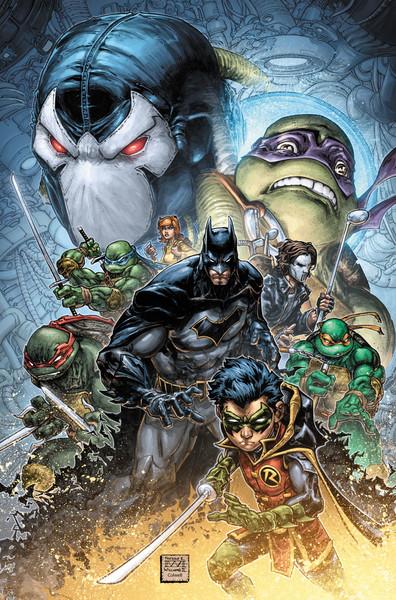 Batman TMNT 2 Cover - DC Comics News