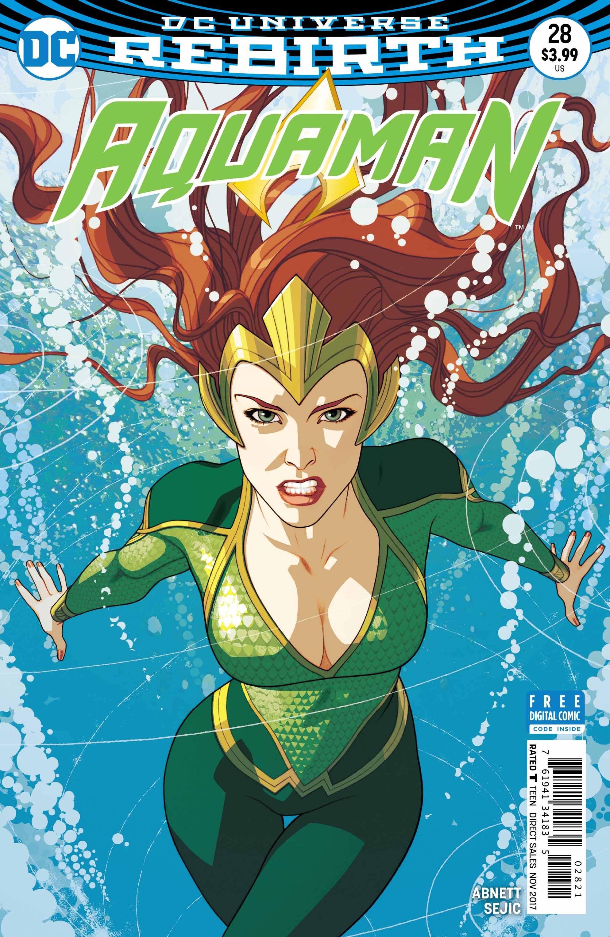 Aquaman 28 Variant - DC Comics News