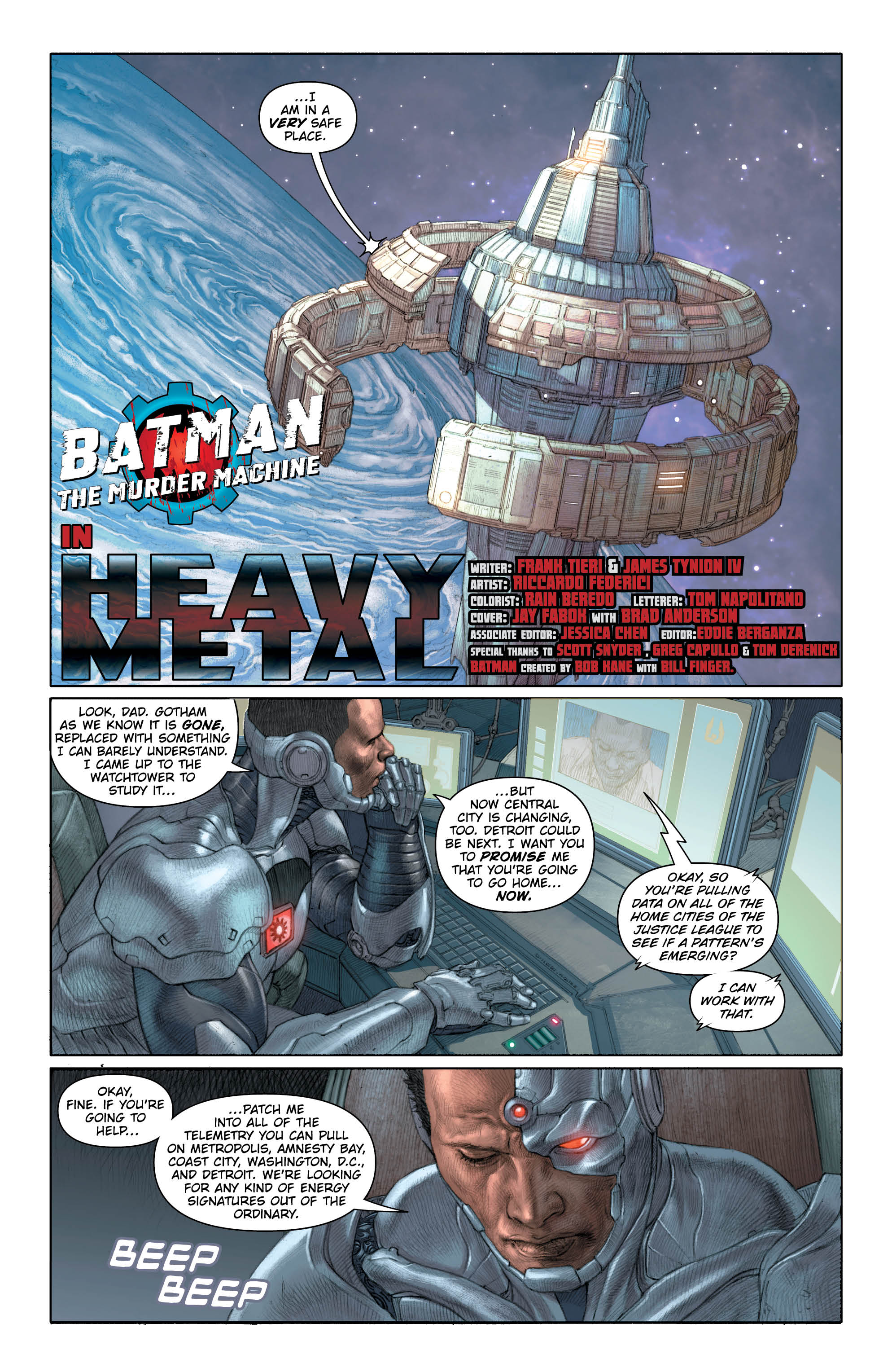 Batman Murder Machine 2 - DC Comics News