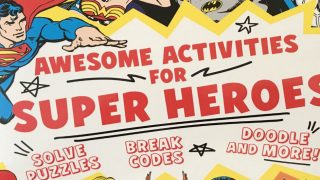 Awesome Activities for Super Heroes DC Comics News
