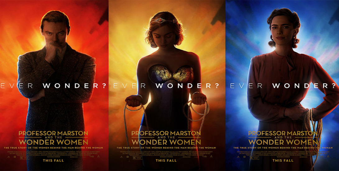 Professor Marston and the Wonder Woman trailer DC Comics News