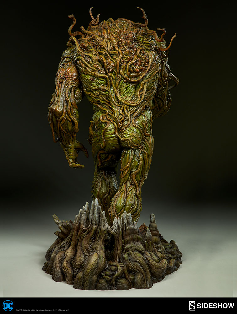 Swamp Thing Maquette From Sideshow Collectibles Dc