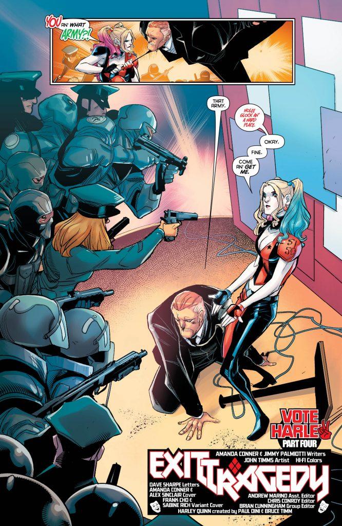 Review: Harley Quinn #31