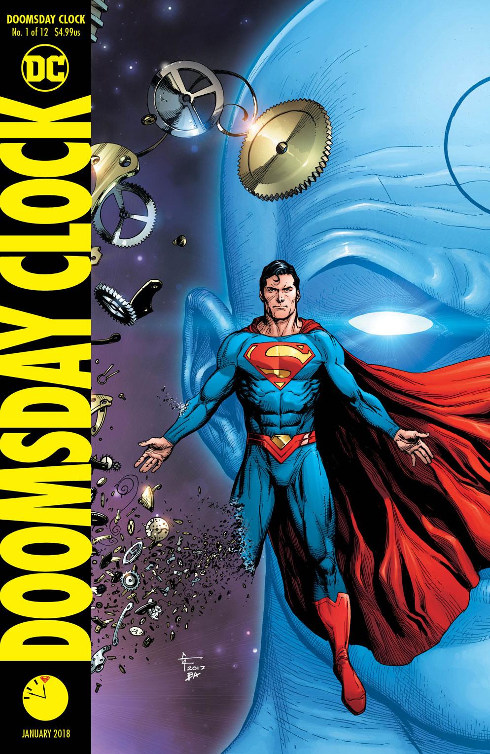Doomsday Clock Variant 1 - DC Comics News