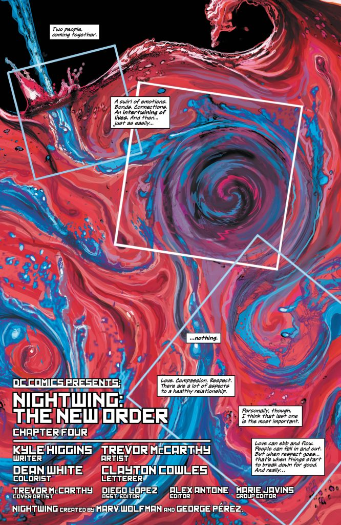 Review: Nightwing: The New Order #4