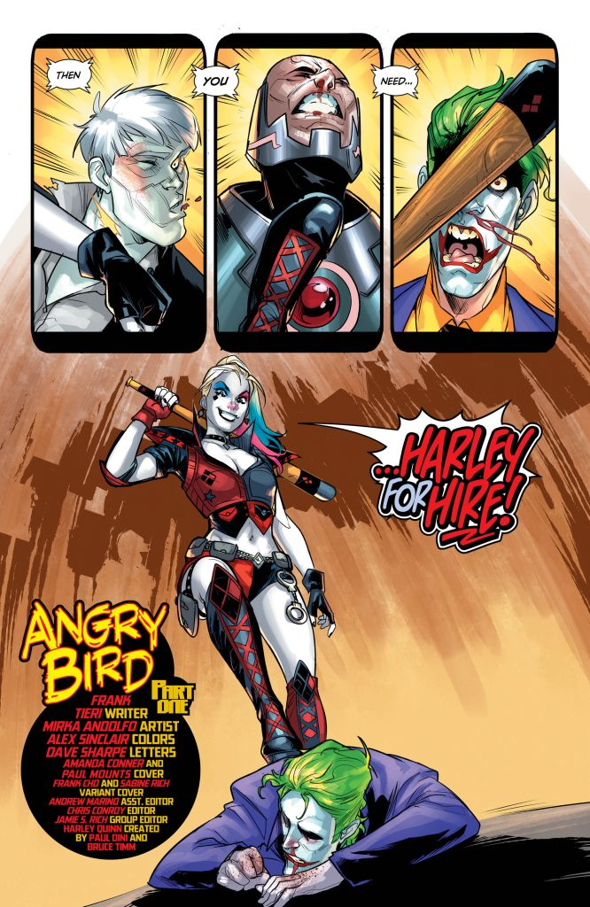 Review: Harley Quinn #37