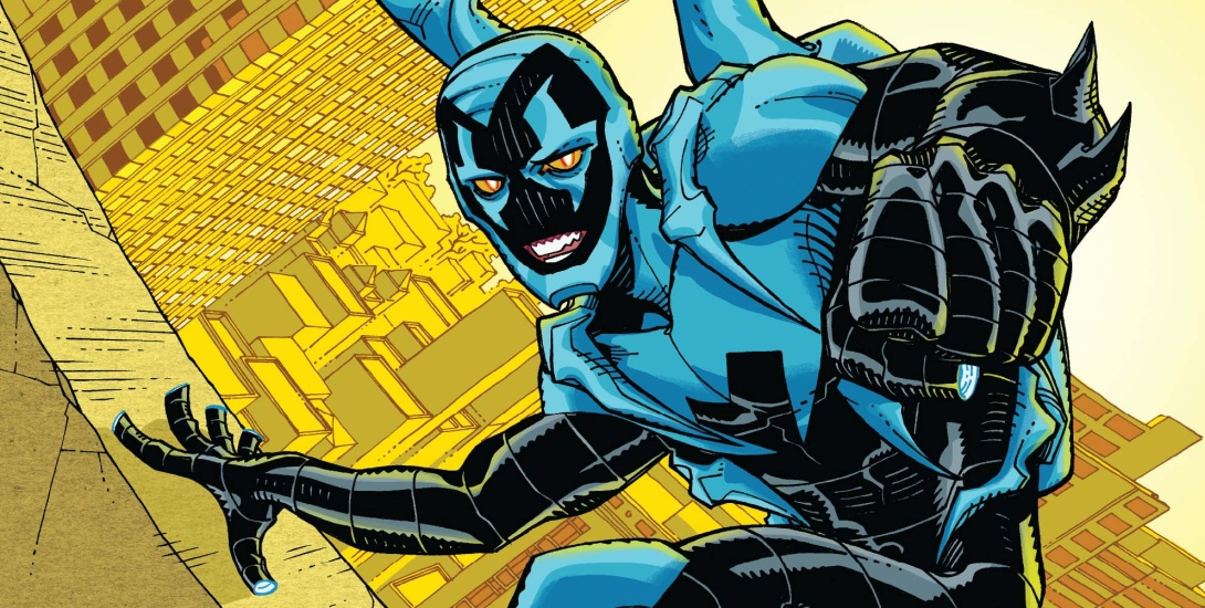 Blue Beetle and Steve Ditko Together Again