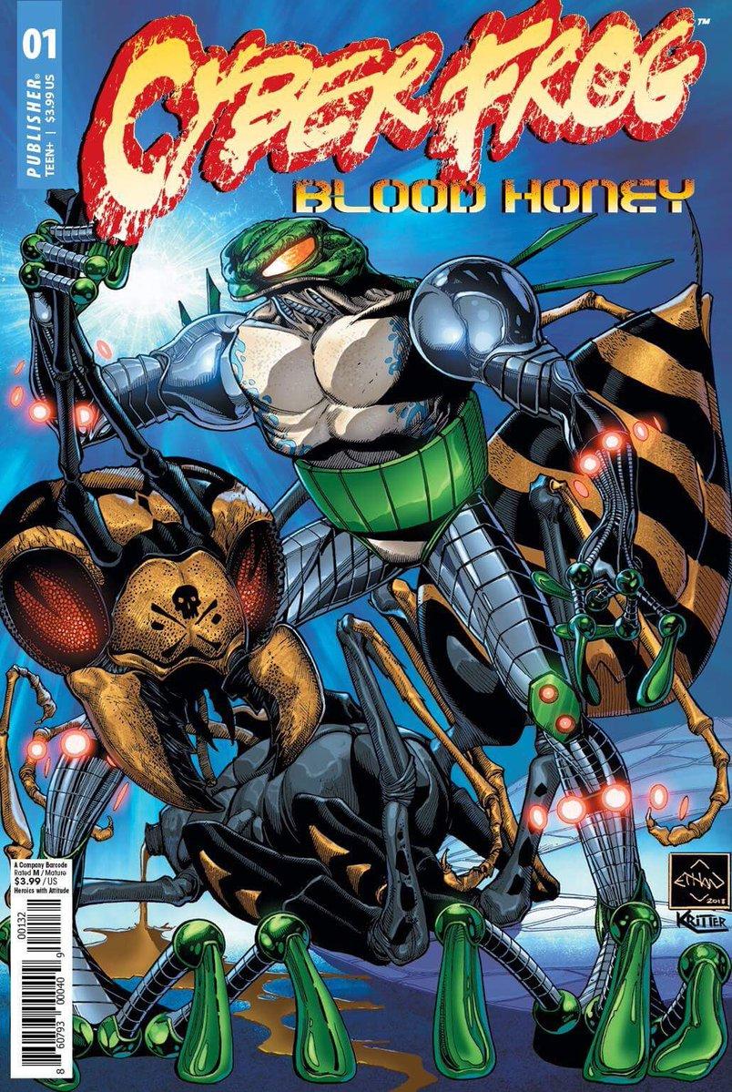 Cyberfrog - DC Comics News