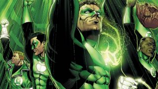 Geoff Johns Green Lantern Corps dc comics news