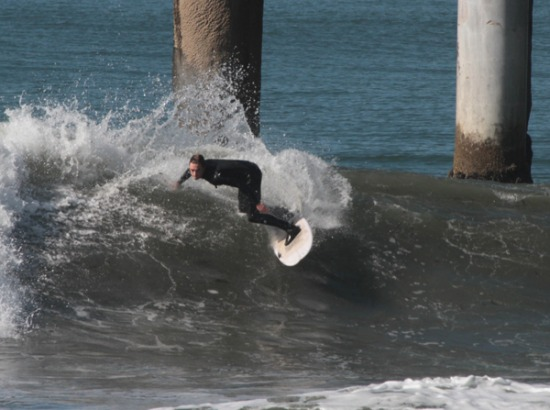 Surf Photos Manhattan Beach Pier January 25 2017