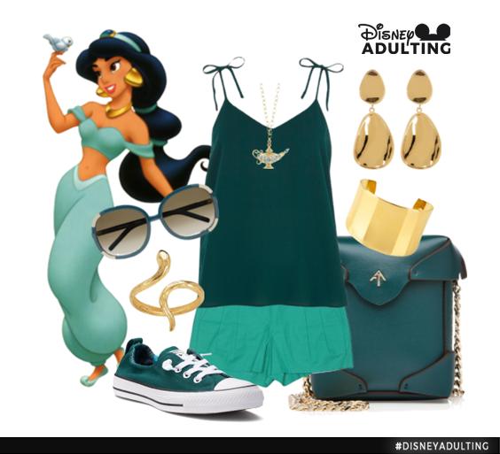 Disneybound-Jasmine