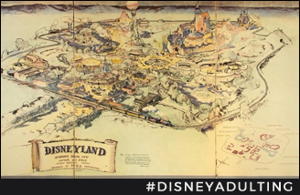 Rare-Disney-Merchandise-Original-Disneyland-Map