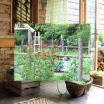 DIY Rustic garden decorating ideas