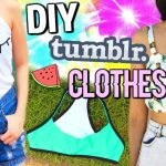 DIY TUMBLR CLOTHES WITHOUT TRANSFER PAPER | SUMMER