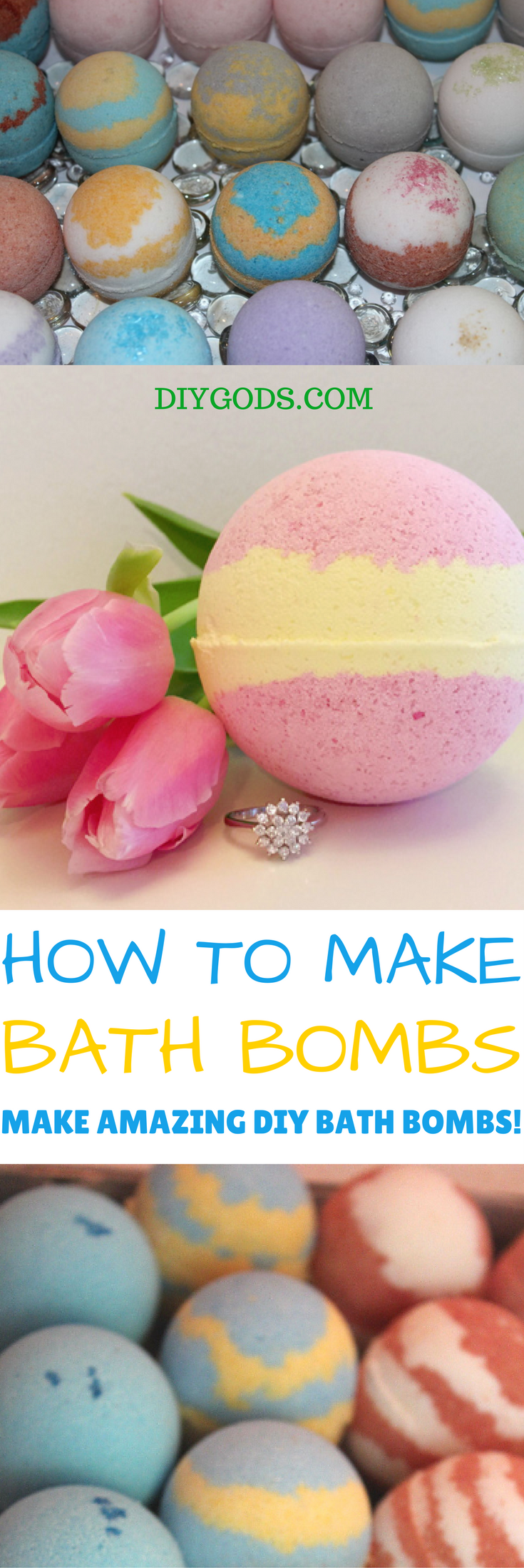 HOW TO MAKE DIY BATH BOMBS