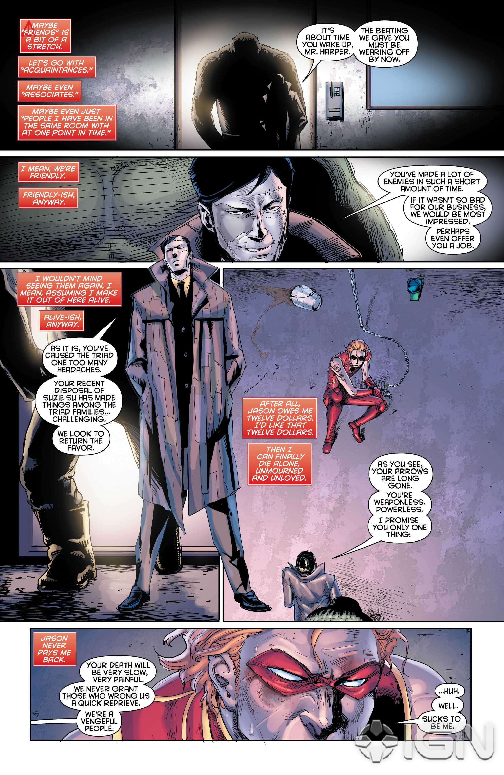 PREVIEW: Arsenal of the Outlaws Spotlight in DC Universe ... Red Son Justice League
