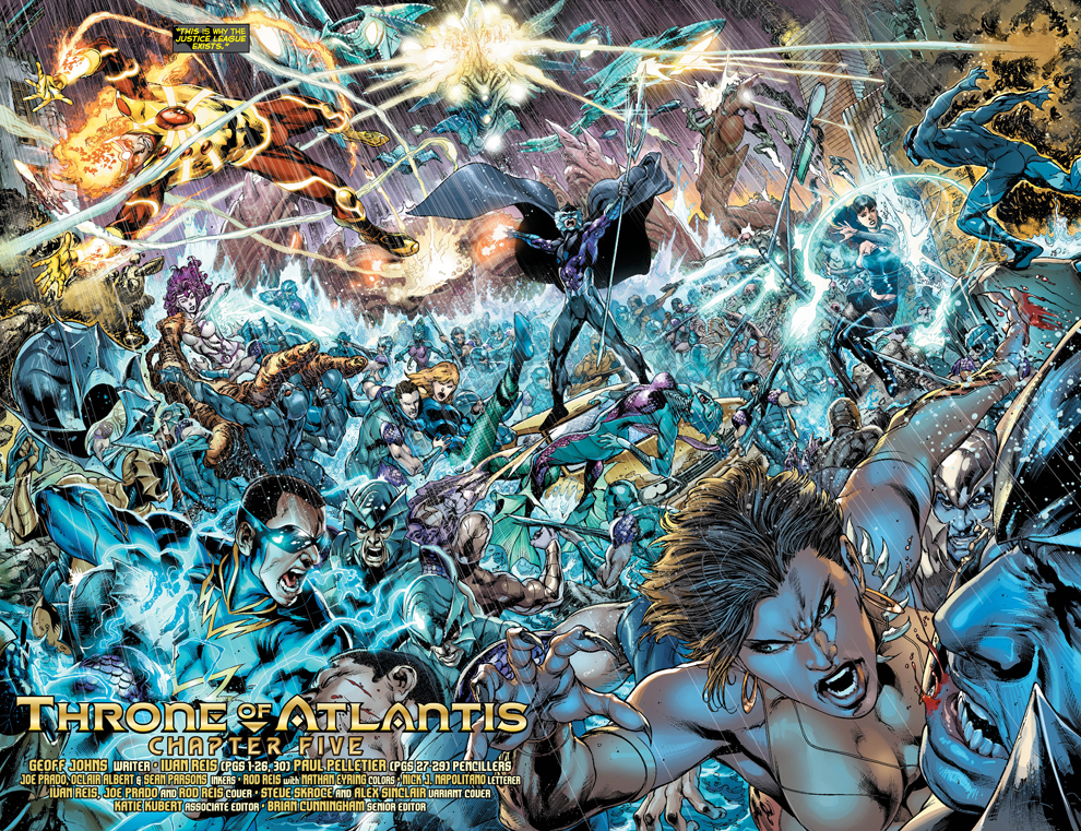 Justice League: Throne of Atlantis' Animated Movie