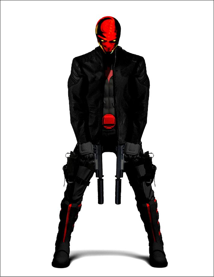 RED HOOD INSPIRED OUTFIT