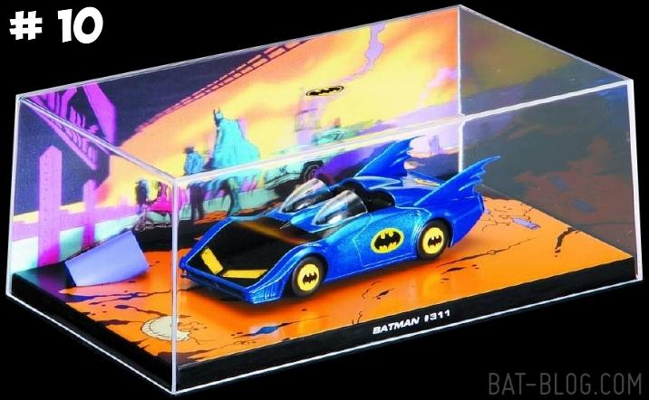 DC Batman Automobilia Batmobile 10 comic 311